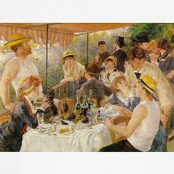 Luncheon of the Boating Party, 1881 Tee