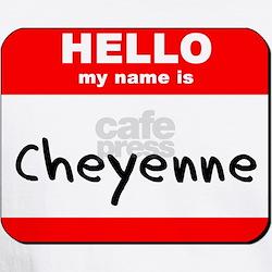Hello my name is Cheyenne Shirt