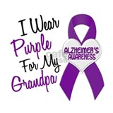 I Wear Purple For My Grandpa 18 (AD) Mug