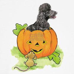 Hallowe'en poodle T