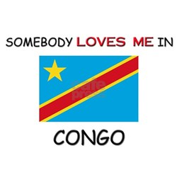 Somebody Loves Me In CONGO Shirt