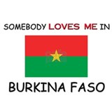 Somebody Loves Me In BURKINA FASO Mug