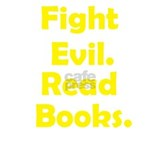 Fight evil, Read Books Mug