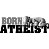 Born Atheist Baby Large 15oz Mug