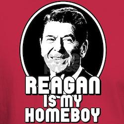 Ronald Reagan Is My Homeboy T-Shirt