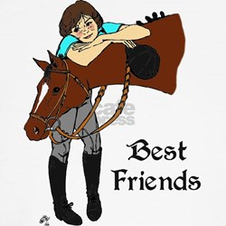 Girl and Horse Shirt