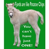 Fjord Horse Chip Design Mug