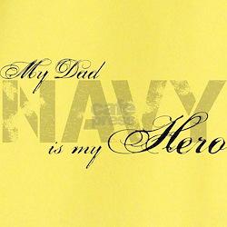 Dad is my Hero NAVY T