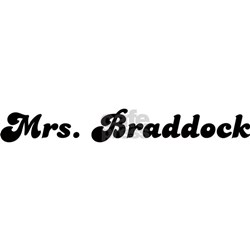 Mrs. Braddock Shirt