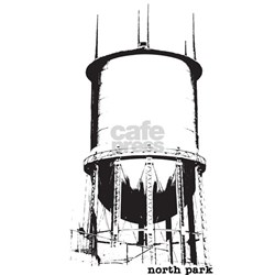 North Park Water Tower Shirt