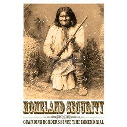 Homeland Security-Geronimo Ash Grey T-Shirt