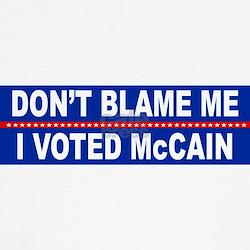 Cute I voted mccain T