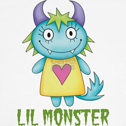 Lil Girl Monster T-Shirt