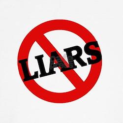Anti-Liars Kids T-Shirt
