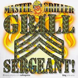 """""""Grill Sergeant!"""" Shirt"""