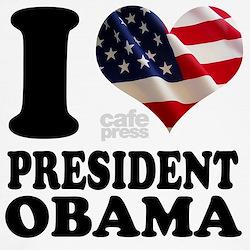 I love President Obama T