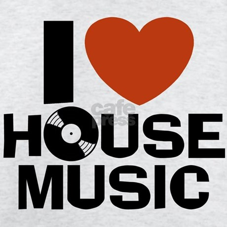 I Love House Music T Shirt By Snapetees
