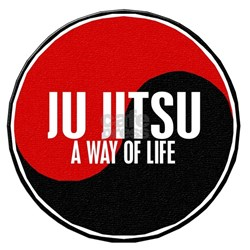 JU JITSU A Way Of Life Yin Yang Tee