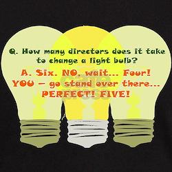 Director Light Bulb T-Shirt
