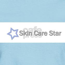 Skin Care Star Women's Pink T-Shirt