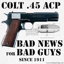 Colt 1911 Cap Sleeve Tee