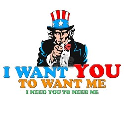 I WANT YOU Shirt