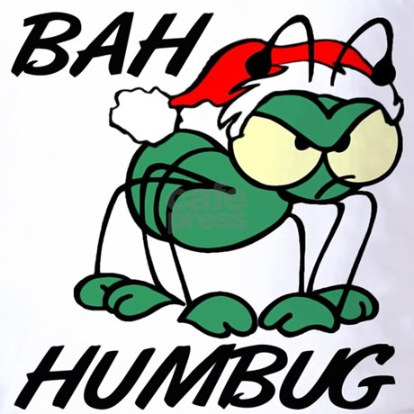 Christmas Bah Humbug T Shirt By Suchislife