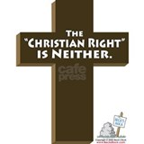 """The 'Christian Right' is Neither"" Mug"