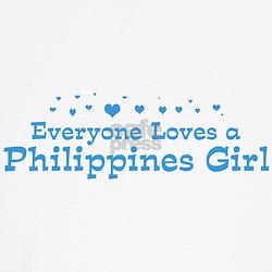 Loves Philippines Girl Shirt
