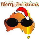 Christmas australia T-shirts