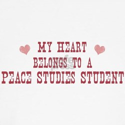 Belongs to Peace Studies Stud T-Shirt