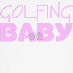 Golfing Baby (Pink) Shirt