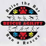 Agility rescue dog Bib