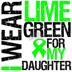 I Wear Lime Green Daughter Shirt
