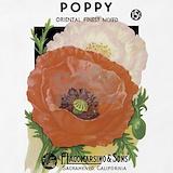 Poppy apron Aprons