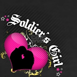 Soldier's Girl [Kiss] Shirt