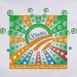Fado Irish Pub Obama Inauguration Tee
