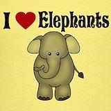 I love elephants Tank Tops