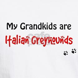 Italian Greyhound Grandkids Shirt