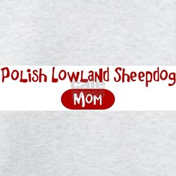 Polish Lowland Sheepdog mom T-Shirt