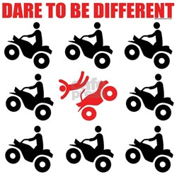 ATV Dare To Be Different Ash Grey T-Shirt