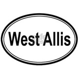 West Allis (oval) Mug