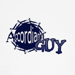 Accordian Guy Logo Shirt