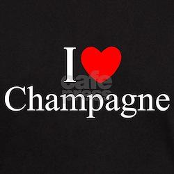 """I Love (Heart) Champagne"" T-Shirt"