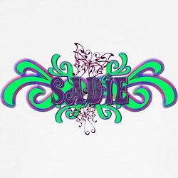 Sadie's Butterfly Name Tee