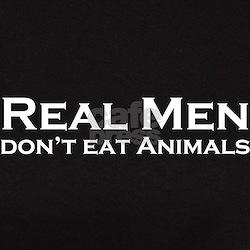 Real Men Vegan Tee