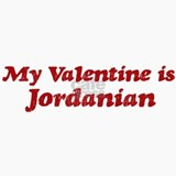 Jordanian Valentine Ceramic Travel Mug