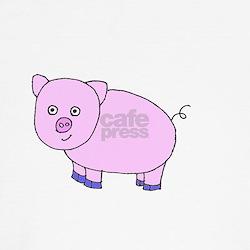 Pink piglet toddler T-shirt