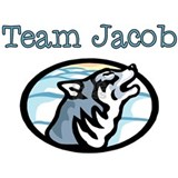 Team Jacob Wolf Mug
