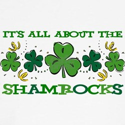 About The Shamrocks Tee